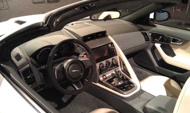 F-Type Interior L
