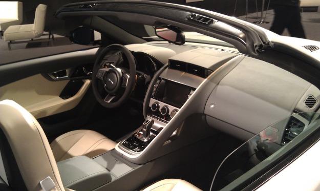 F-Type Interior R