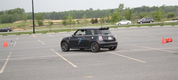 MINI JCW Autotcross