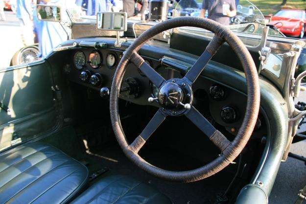 Bentley 4 1/2 Litre Interior
