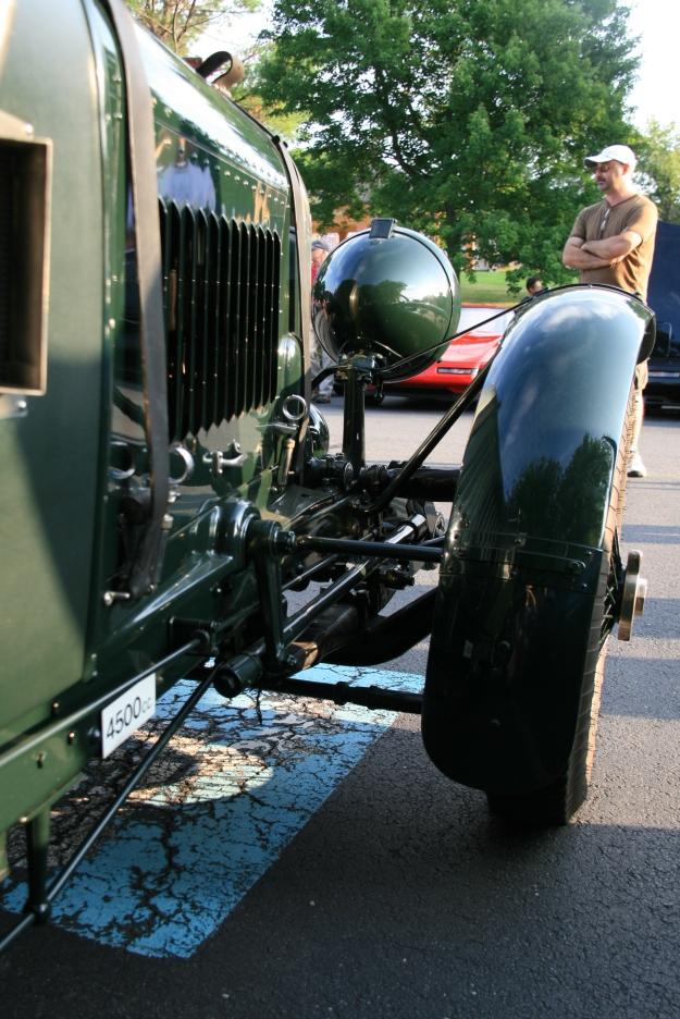 Bentley 4 1/2 Litre Suspension