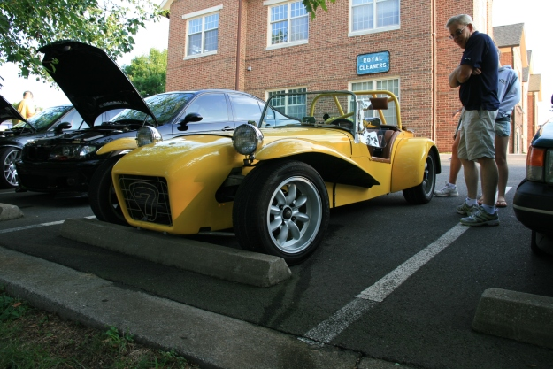 Yellow Rotary Lotus 7 Replica