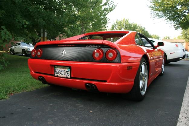 Ferrari F355 GTS Red