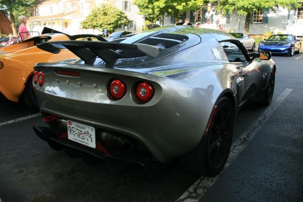 Silver Lotus Exige