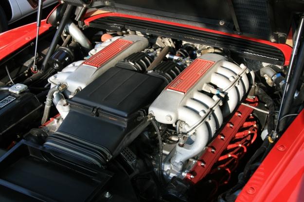 Ferrari Testarossa Boxer Engine