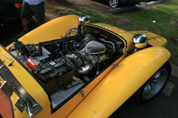 Lotus 7 Replica Rotary Engine